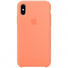 Чехол для iPhone Apple iPhone X Silicone Case, Peach